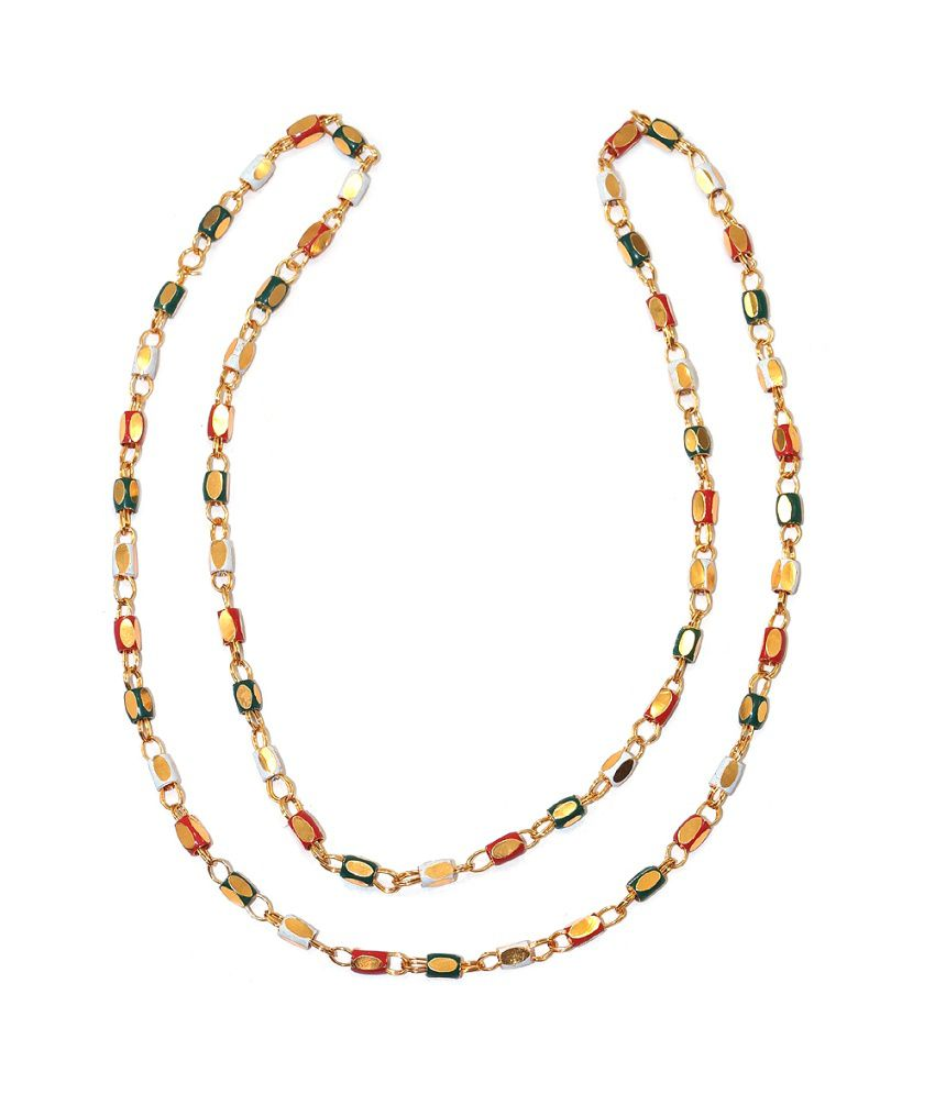 R S Jewels Alloy Necklace