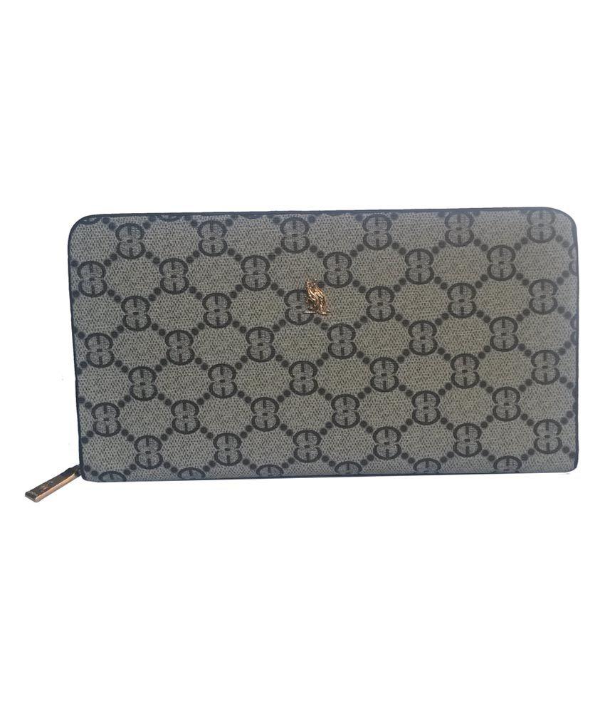 Q-rious Beige Premium Non Leather Regular Wallet