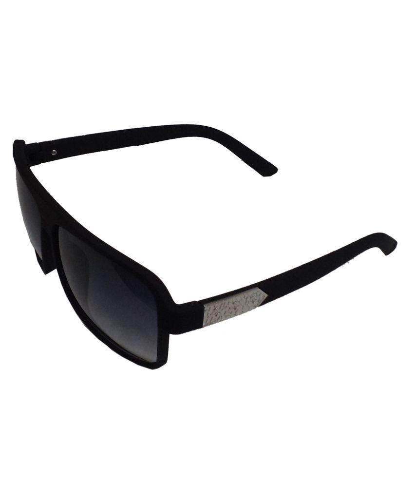 Honey Singh Gray Uv Protection Wayfarer Sunglass For Men