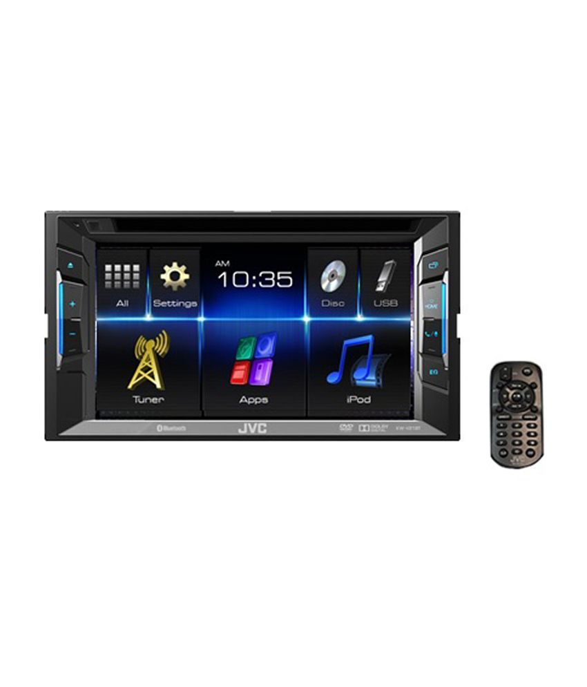 jvc kw v11 double din dvd cd usb receiver with 6 2 inches wvga touch panel monitor buy. Black Bedroom Furniture Sets. Home Design Ideas