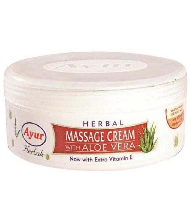mobiles aloe vera massage cream