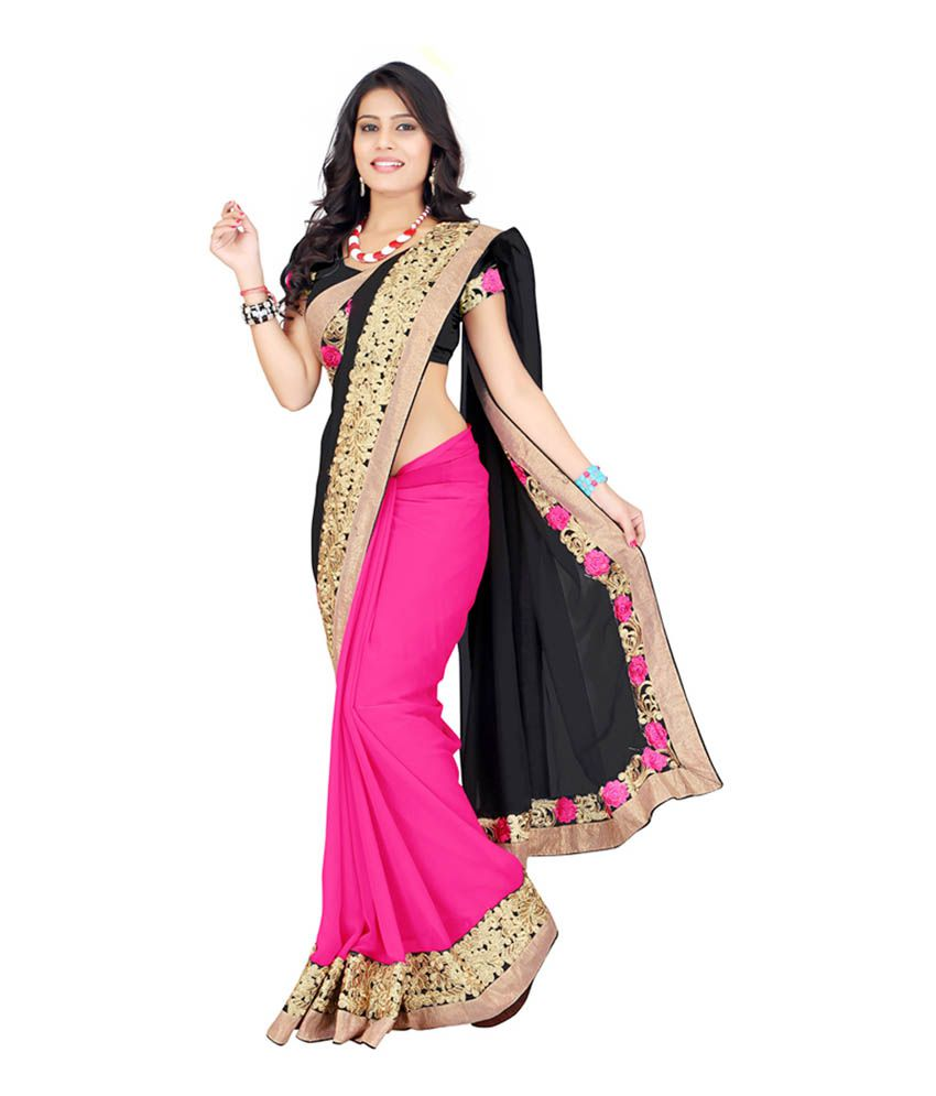 Half saree online shopping snapdeal