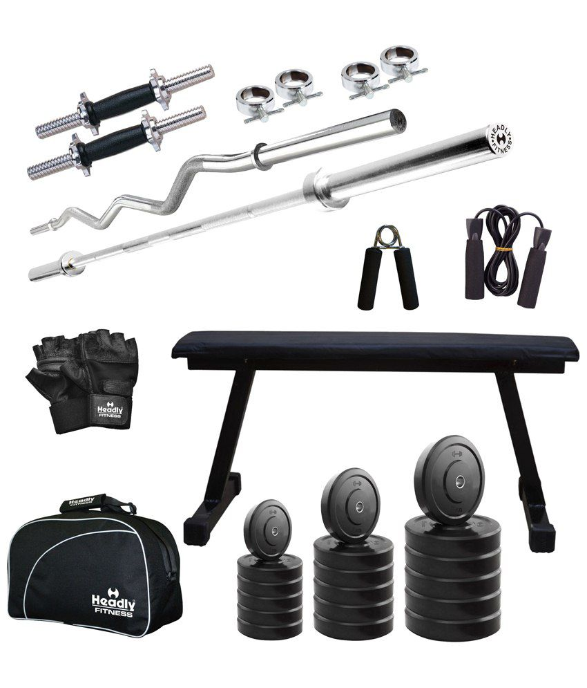 Headly kg total fitness home gym quot dumbbells flat