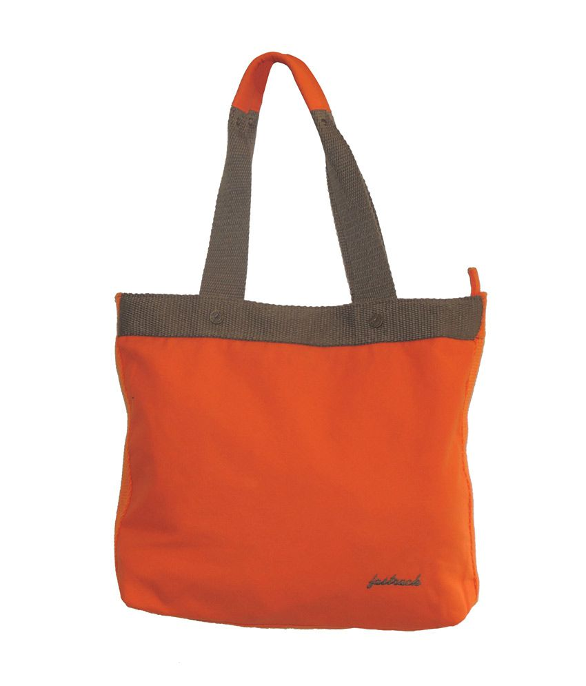 Fastrack Orange Women Handbag
