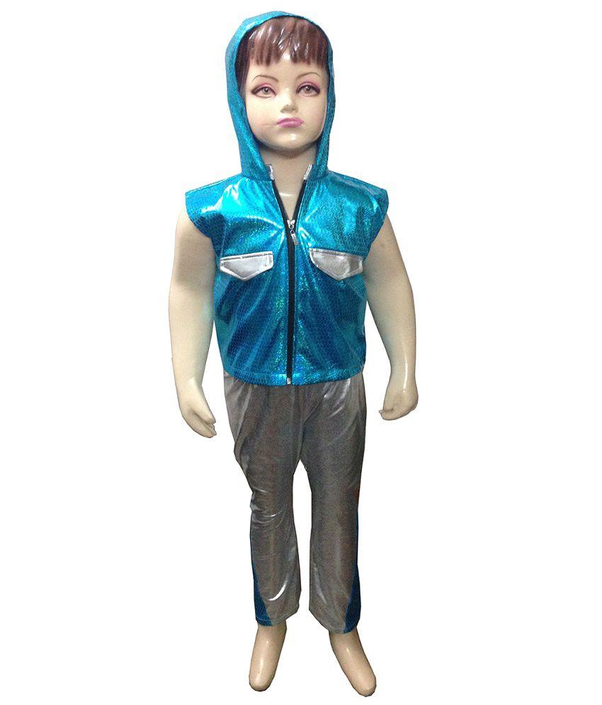Fancy Steps Western Boy Dance Dress With Hood Fancy Dress Costume B ...