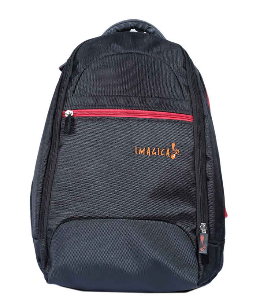Imagica Black Backpacks