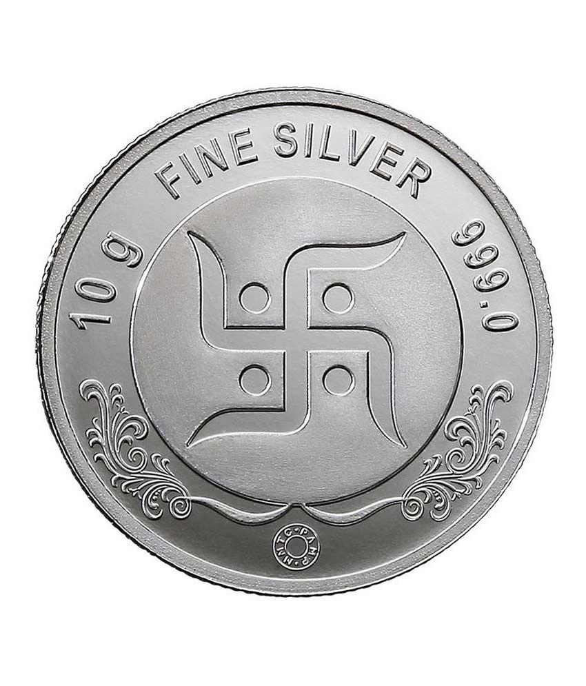 Mmtc Pamp Gram Silver Coin