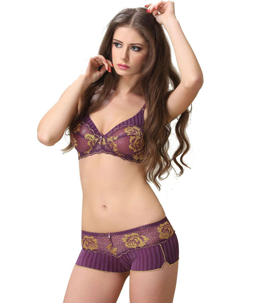 c56e307593 Buy Lady Love Fancy Bra Panty Set Online at Best Prices in India - Snapdeal