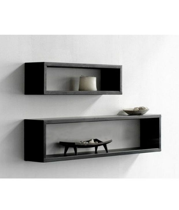 lifeestyle rectangular floating shelf wall shelf storage shelf rh snapdeal com