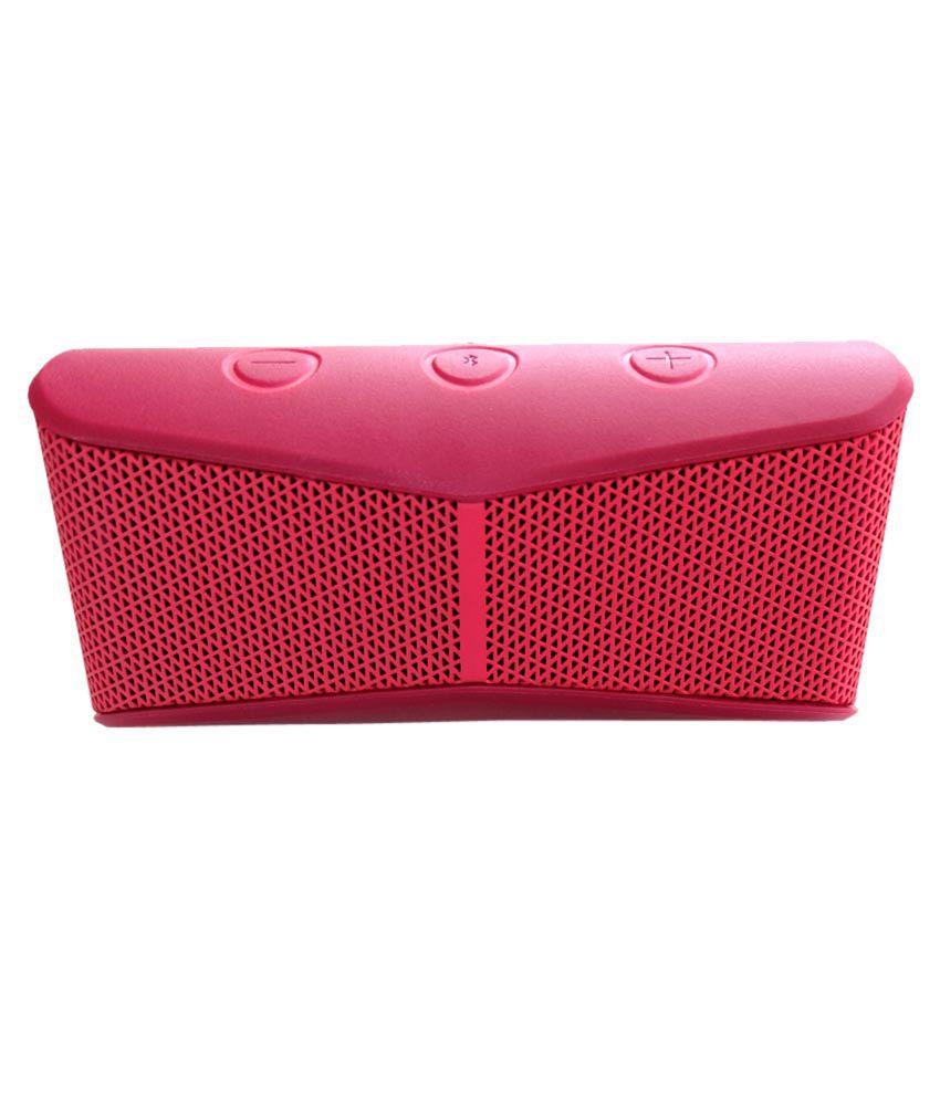 Logitech-X300-Mobile-Wireless-Stereo-Speaker-Red