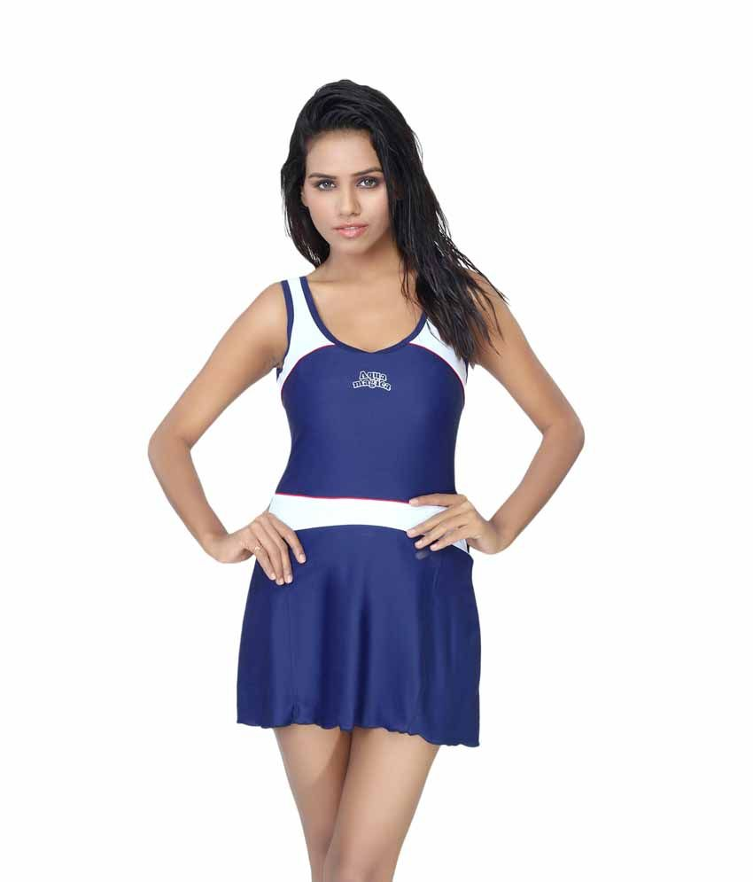 c6433f6e8 Aquamagica Women Scoop Neck Sleeveless Swimsuit  Swimming Costume  Buy  Online at Best Price on Snapdeal
