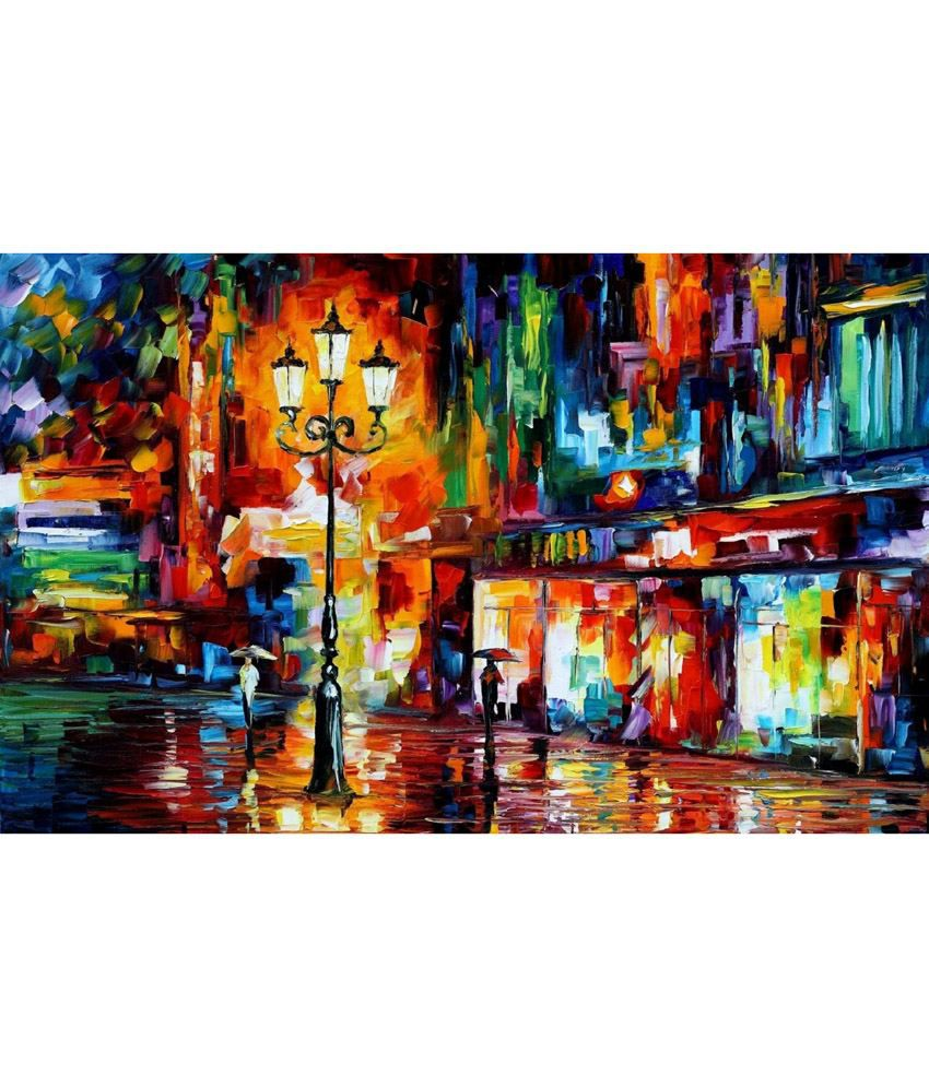 Elite Collection Digitally Printed Frameless Valentine Canvas Painting