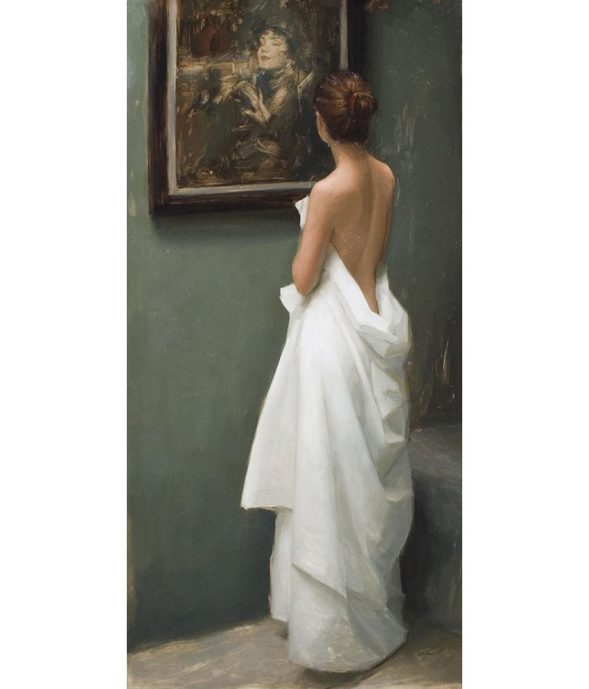 Elite Collection Digitally Printed Frameless Canvas Painting Western-042