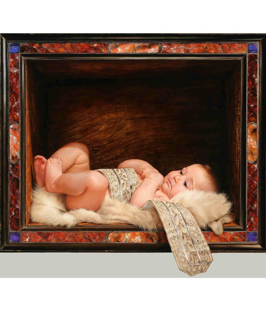 Elite Collection Digitally Printed Frameless Canvas Painting Western-289