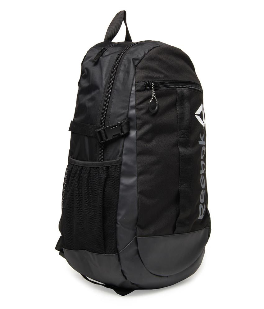 Reebok Delta Laptop Backpack - Black Reebok Delta Laptop Backpack - Black  ...