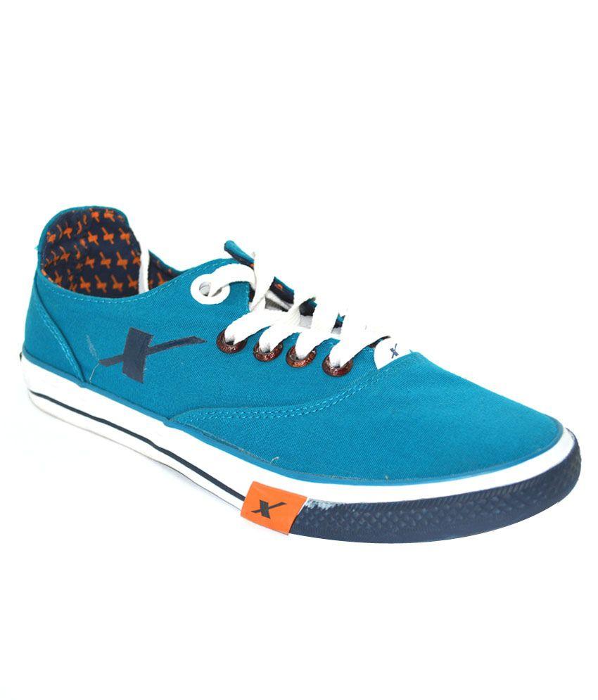 Buy Sparx Blue Sneaker Shoes Art