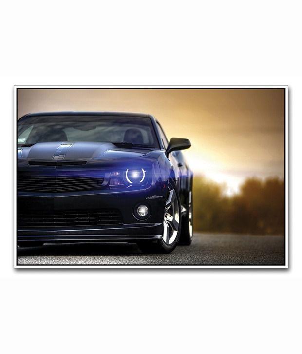 artifa glossy bugatti super car poster best price in india. Black Bedroom Furniture Sets. Home Design Ideas