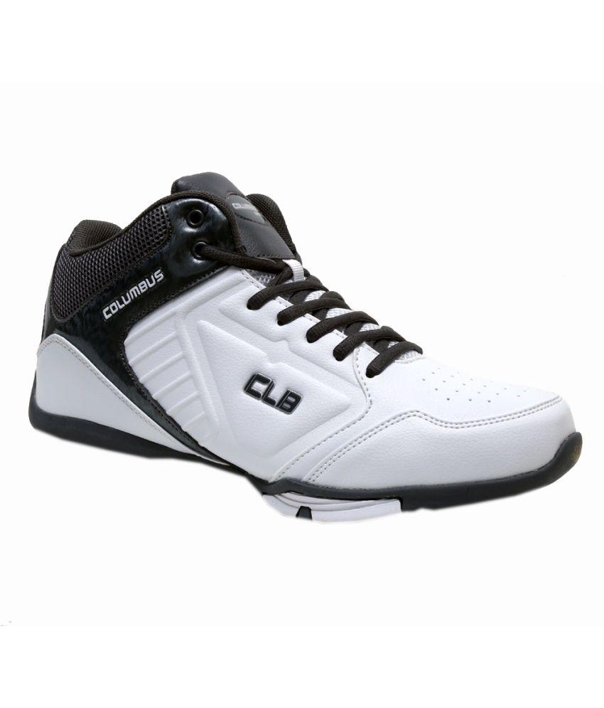 Columbus White Lifestyle Shoes For Men