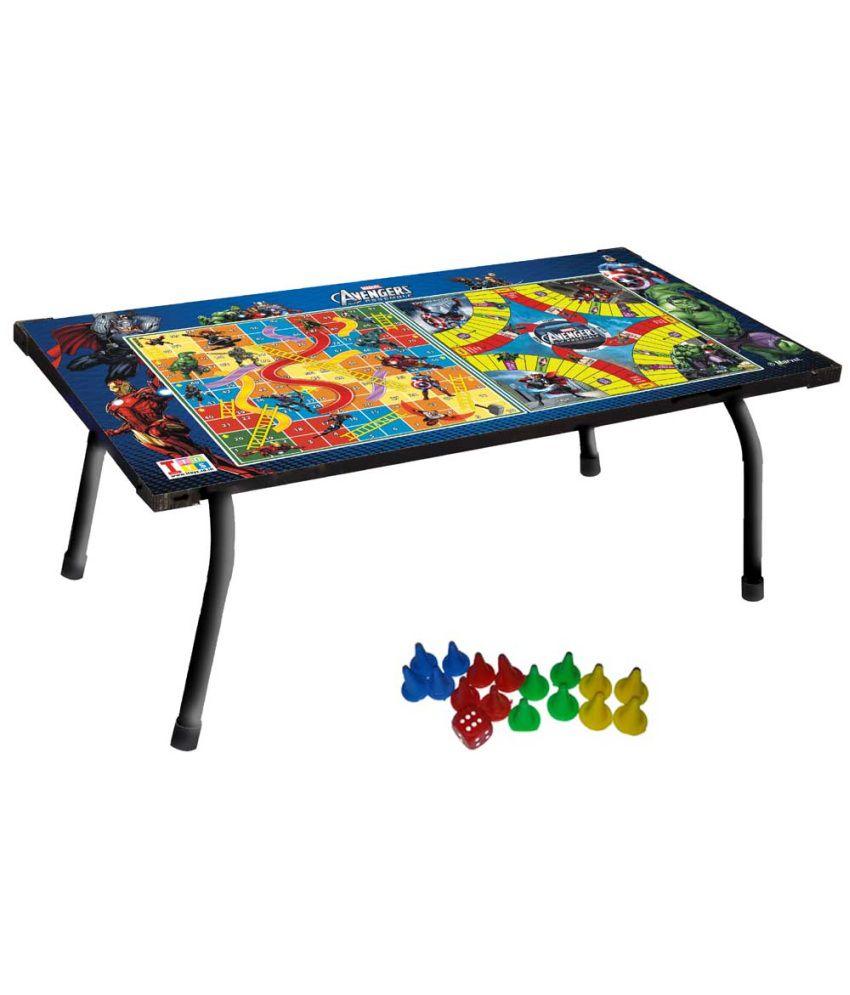 Fantastic Marvel Avengers Multipurpose Gaming Table Buy Marvel Home Interior And Landscaping Elinuenasavecom