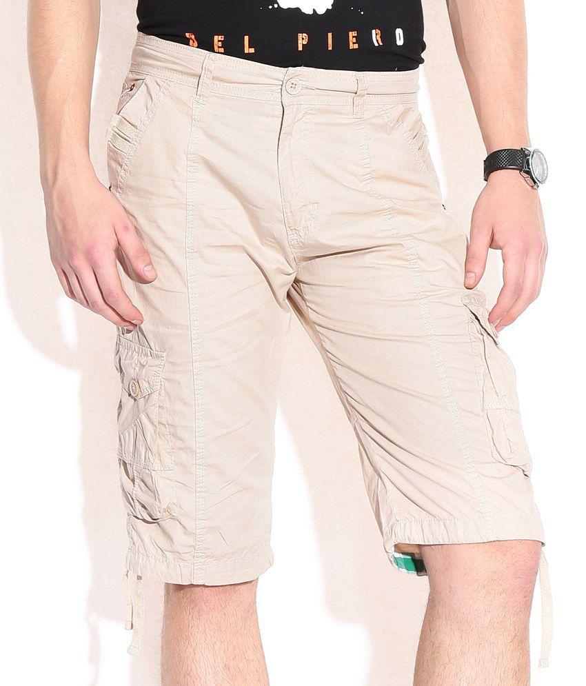Sports 52 Wear Beigecotton Shorts