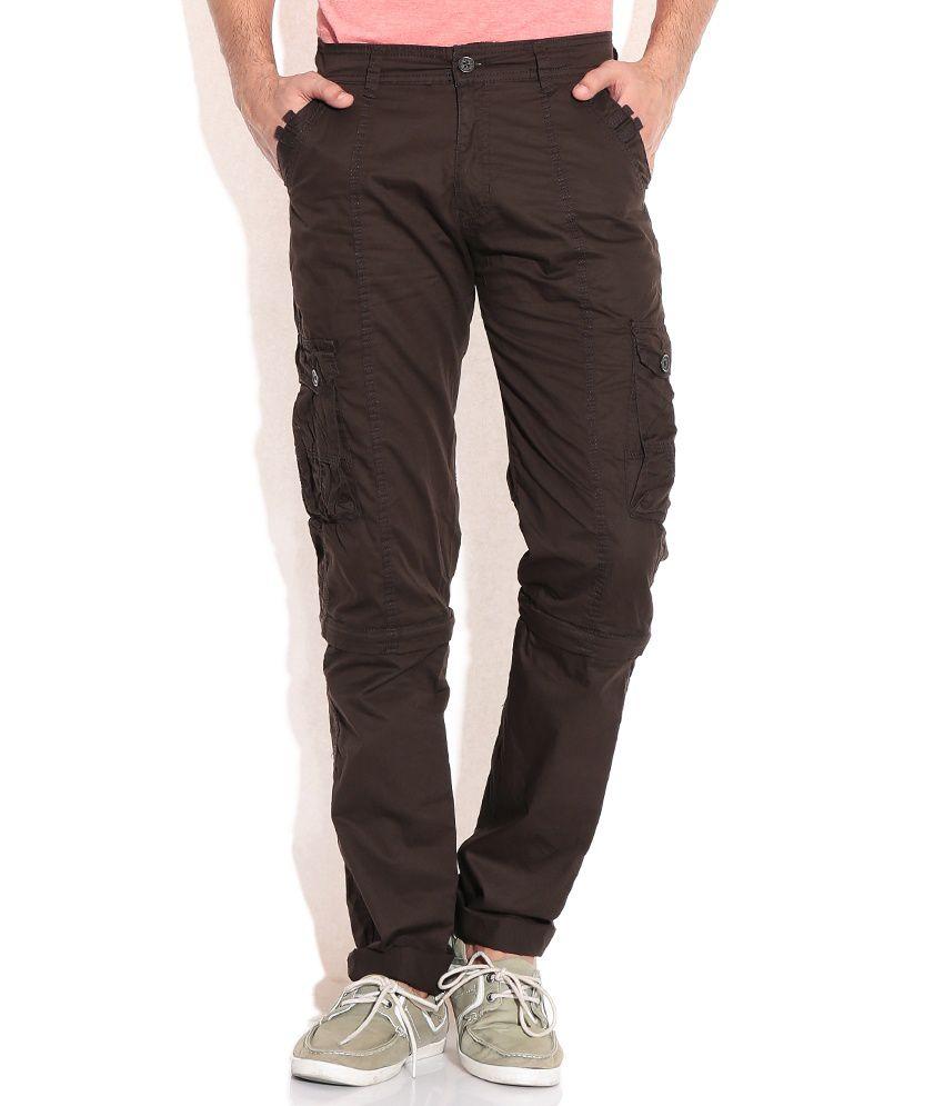 Sports 52 Wear Brown Cotton Chinos