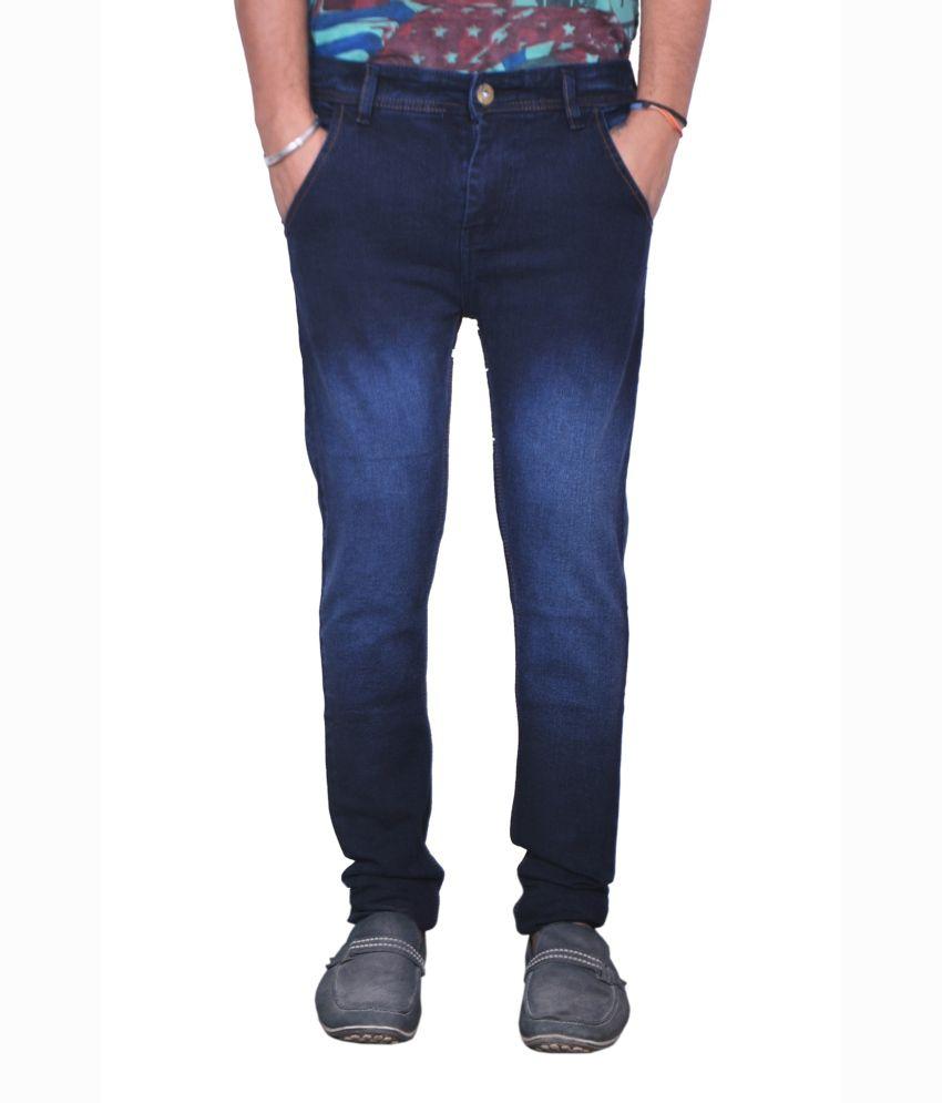 Orison Blue Slim Fit Men's Jeans