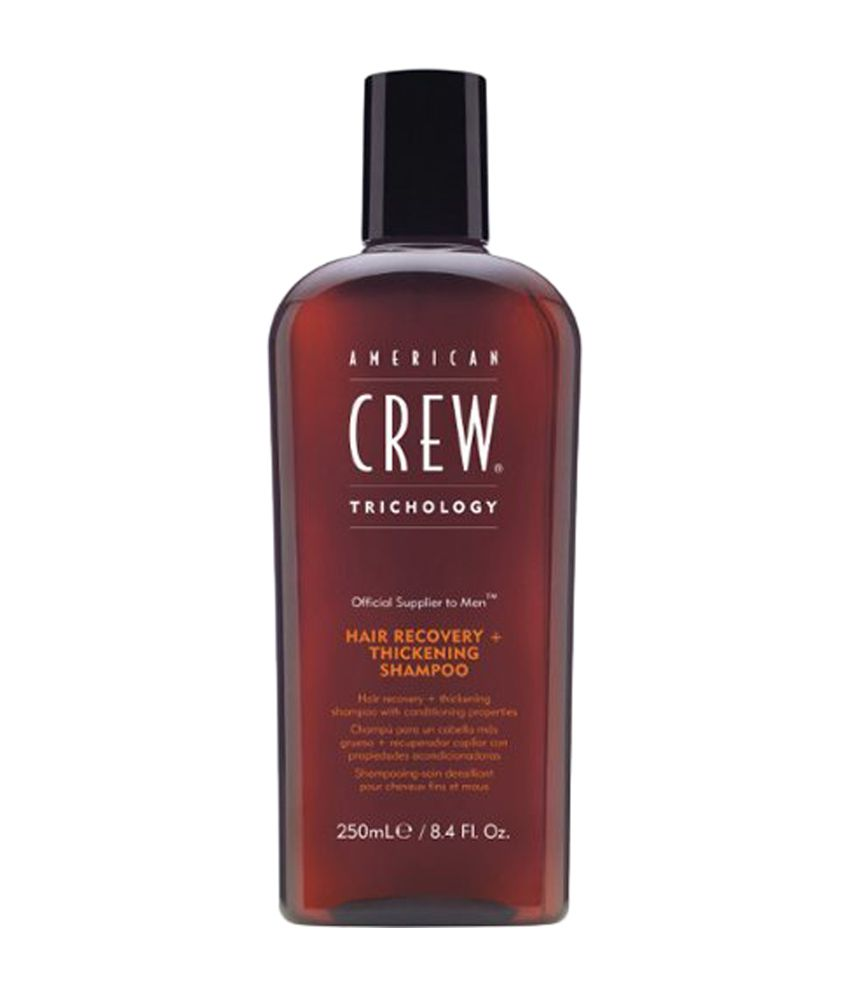 american crew hair recovery with thickening shampoo for. Black Bedroom Furniture Sets. Home Design Ideas