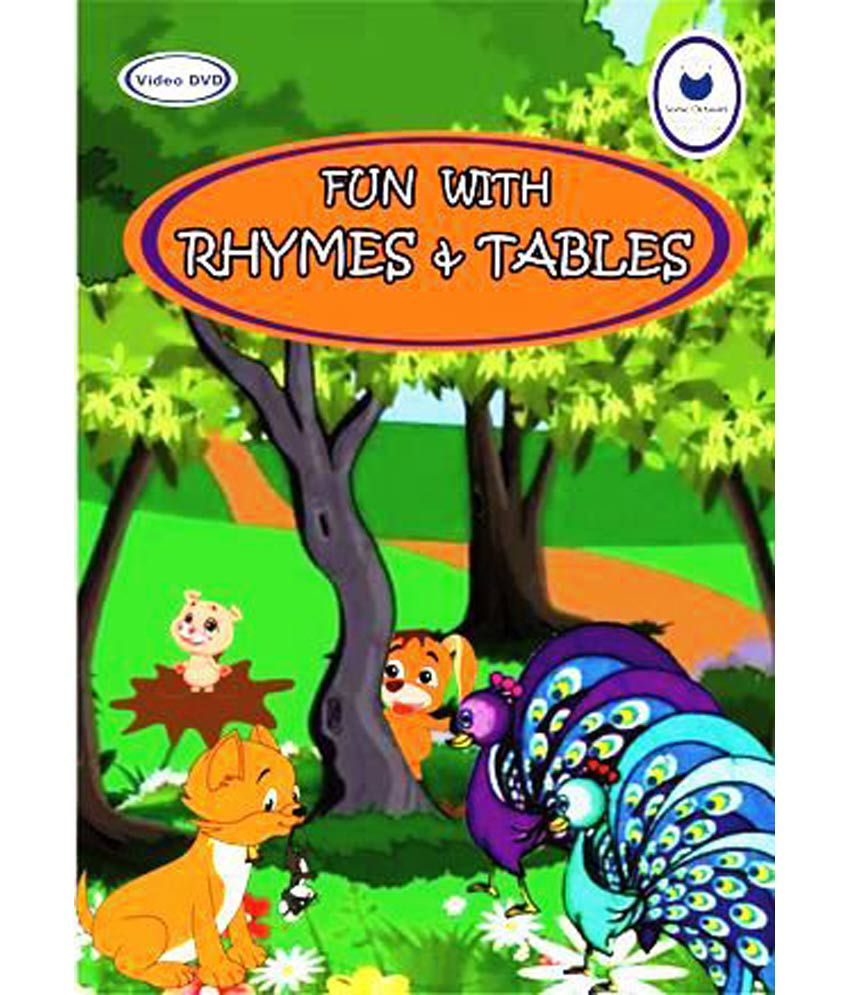 English Moral Stories, Nursery Rhymes And Tables ( Dvd ) ( English ) ( DVD  ) - English