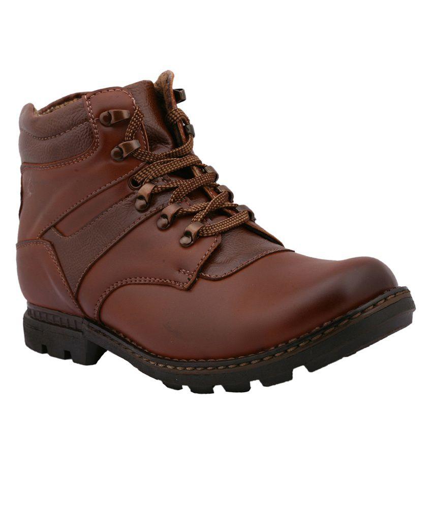 Potro Brown Boots