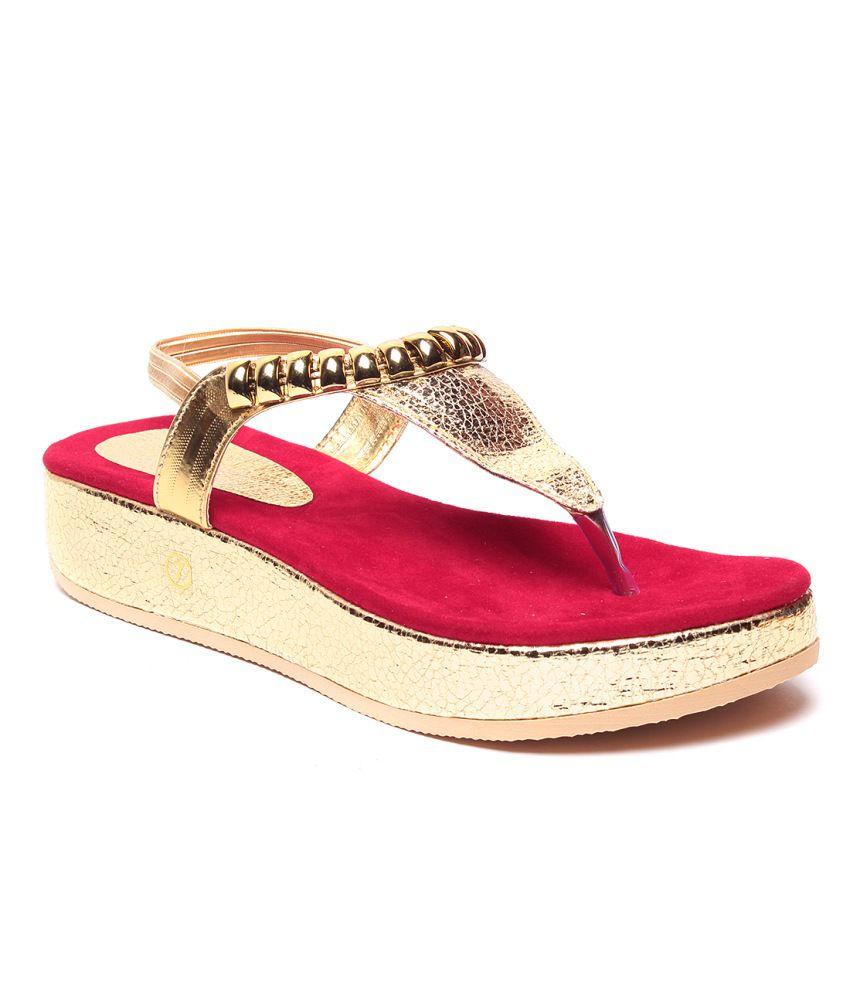 Rosa Ferro Red Heeled Sandal