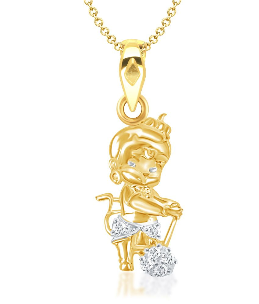 Vk jewels bal hanuman gold and rhodium plated kids pendant buy vk vk jewels bal hanuman gold and rhodium plated kids pendant aloadofball Image collections