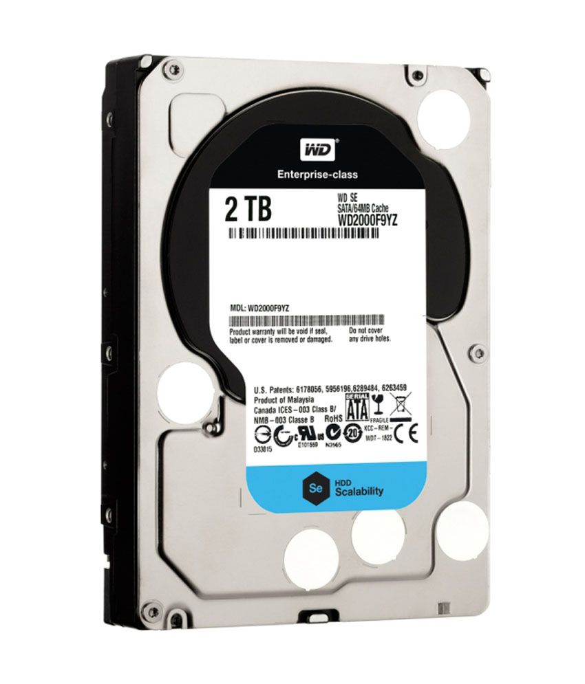 WESTERN DIGITAL 2TB Internal Hard Drive