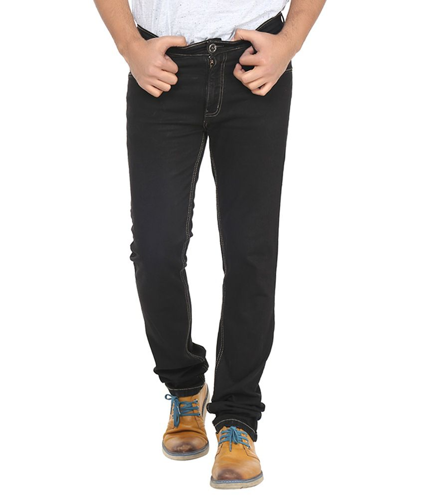 Forget Black Regular Jeans