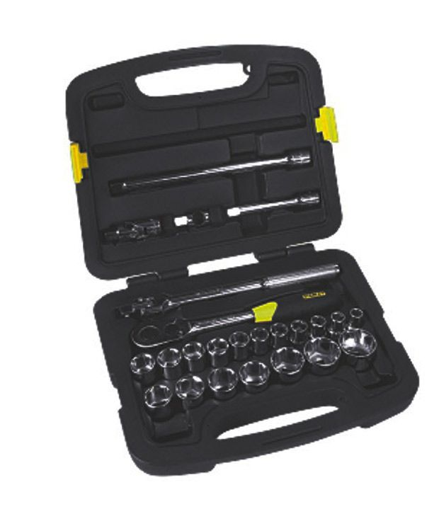 ProTul-1/2-Inch-Metric-Socket-Set-(24-Pcs)