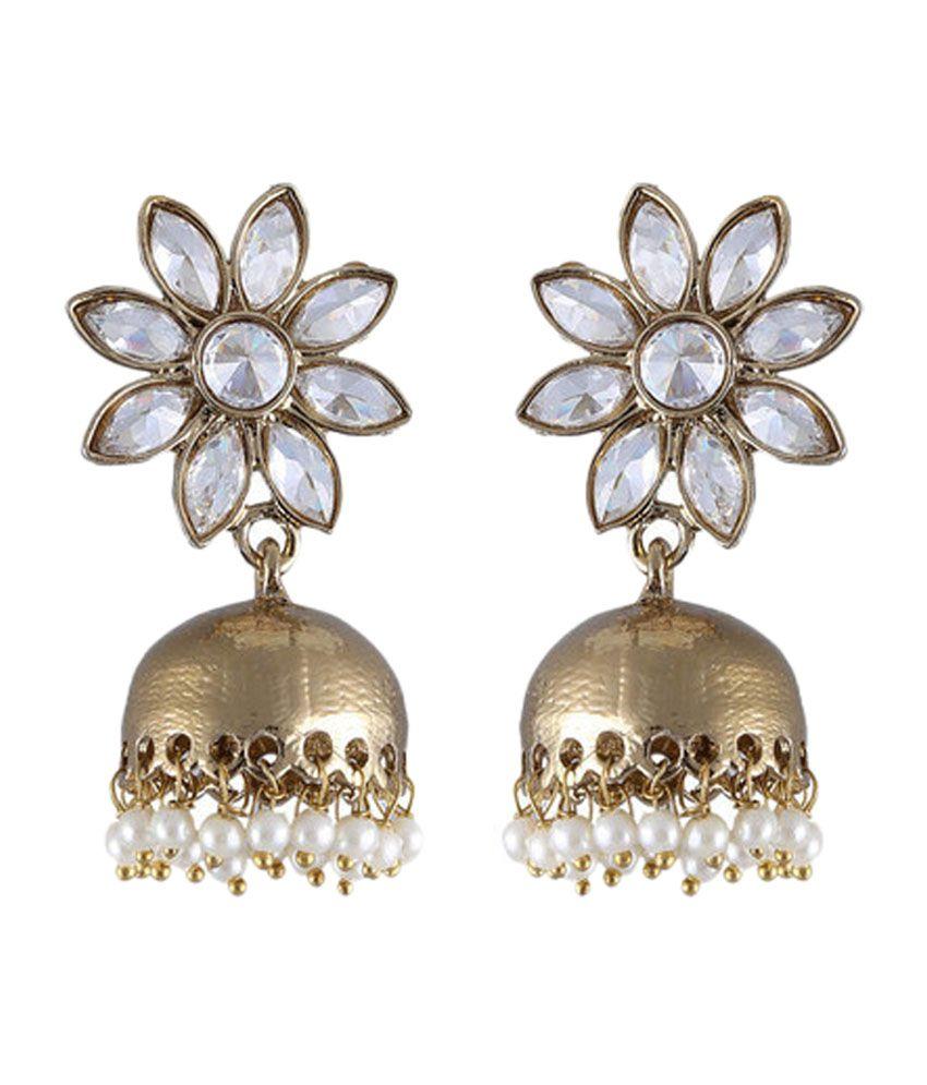 Vastradi Desirable Polki Earrings