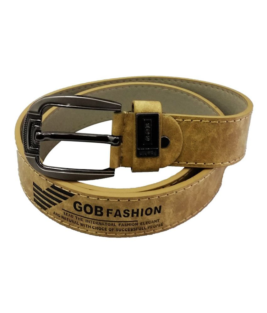 Verceys Camel Fashion Belt