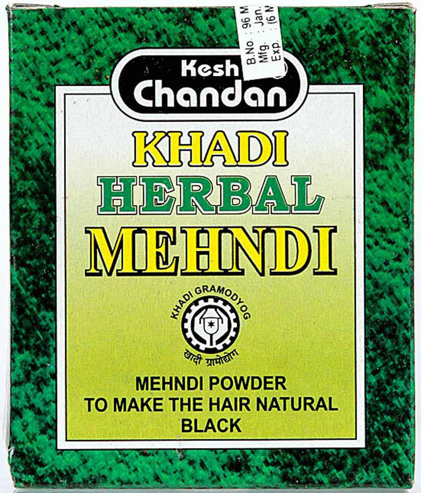 Khadi Kesh Chandan Khadi Herbal Mehndi