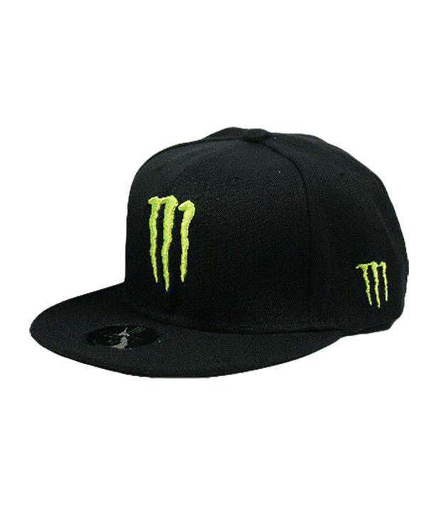 Crystal Corner Black Monster Cap