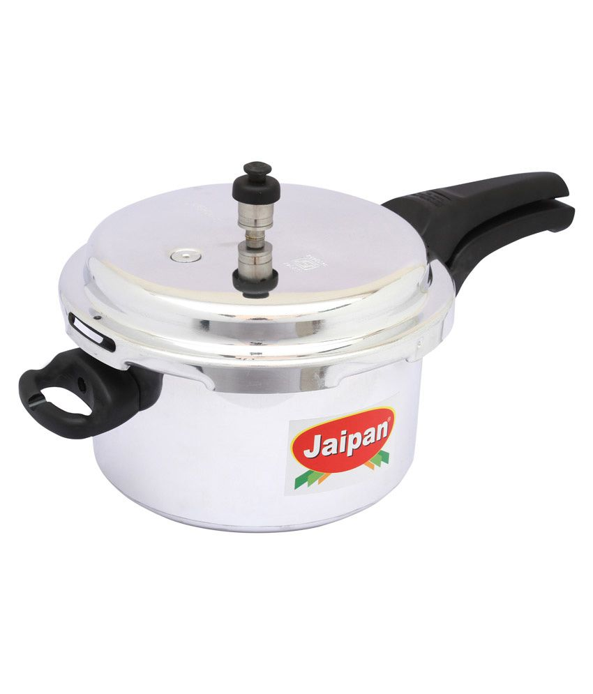 Jaipan Outer Lid Cooker - 3 Litre Free Recharge Inside