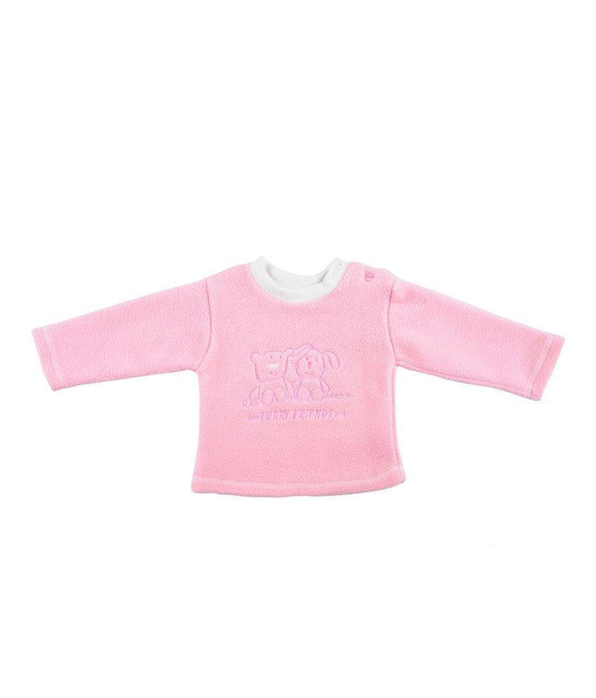 Tillu Pillu Pink Polyester baby tshirt