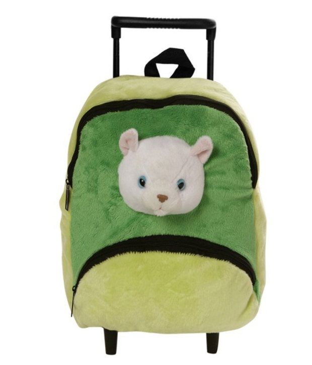 Wild Republic Poly Trolley Bag Cat School Accessories