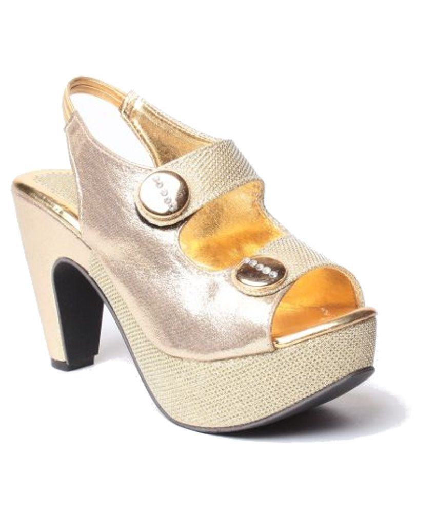 Anand Archies Gold Cone Sandals