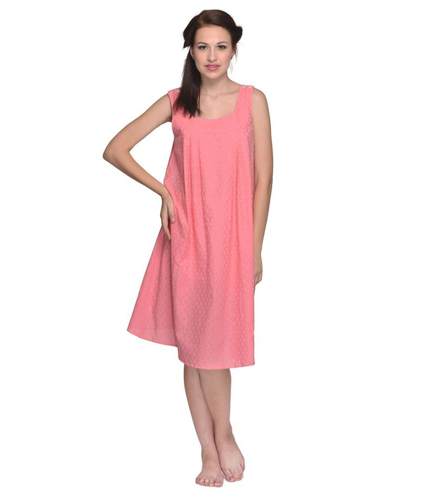 Buy Citypret Cotton Nighty   Night Gowns Online at Best Prices in India -  Snapdeal 44af80a47