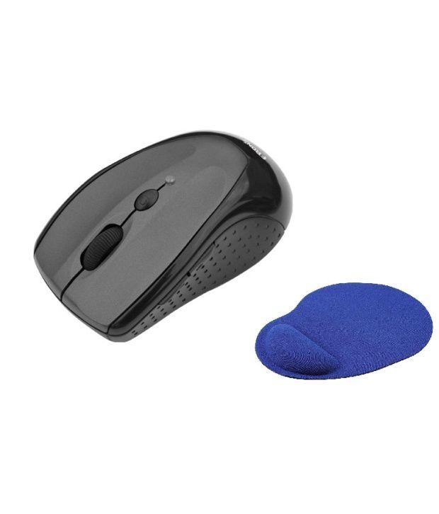 Frontech Jil-3741 Wireless Mouse Black