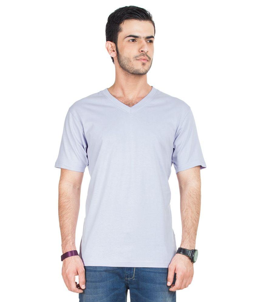 Zovi Purple Cotton T-shirt