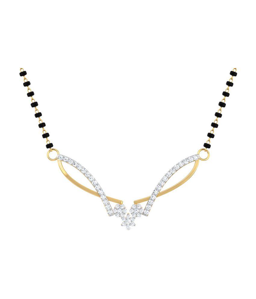 Caratlane Elegant Gold Mangalsutra