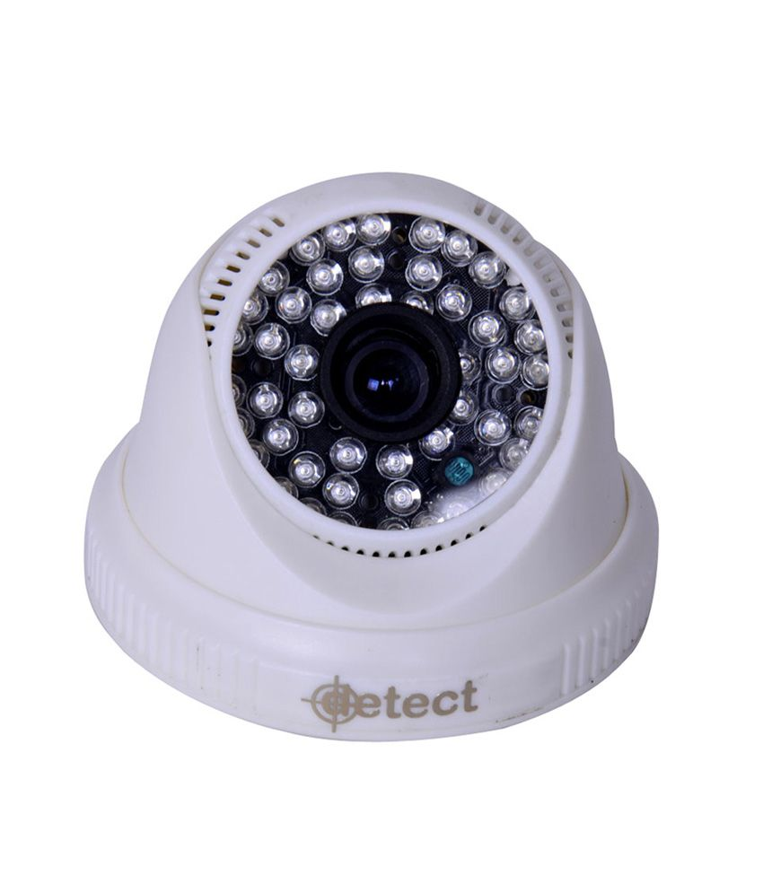 Detect High Resolution Premium Home/business Security Cctv Camera With 800 Tvl 36 Led Nightvision 6 Mm Lens Dis Chip Inside -white