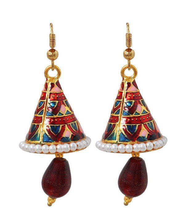 Maayra Majestic Antique Jhumkis