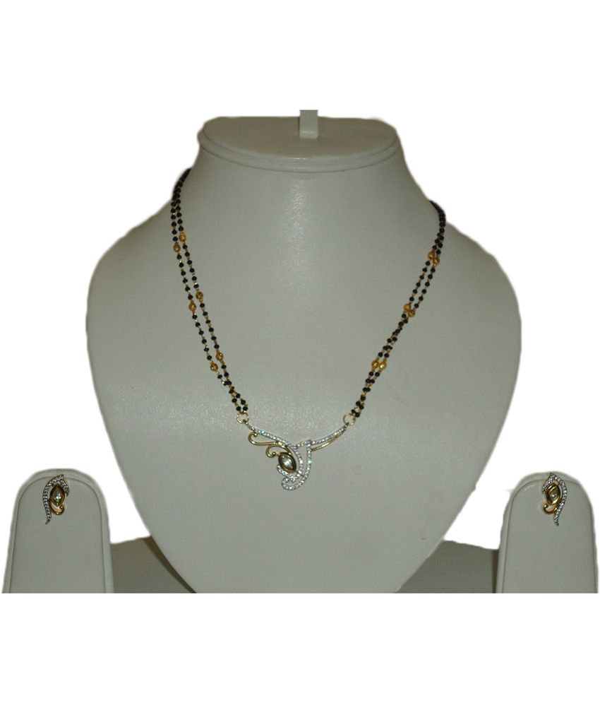 Sty Lyn Jewels Beautiful Designer American Diamond Mangalsutra