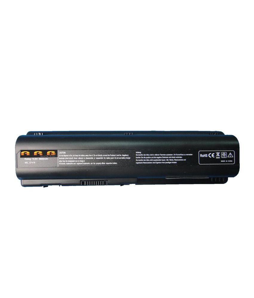 Arb Laptop Battery For Hp Pavilion Dv6-1010tx With 12 Cells